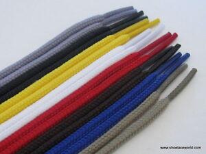 Round-Shoelaces-90cm-120cm-140cm-2-5mm-Lace-for-Shoe-Boot-Trainer-Sport-Laces
