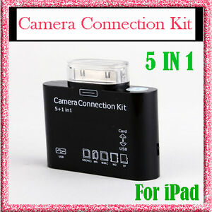2in1-5-in-1-Camera-Connection-Kit-Card-Reader-Charger-Cable-For-iPhone-4G