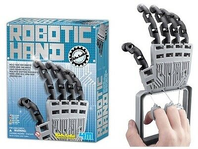 Build Robotic Hand Kit by 4M Toysmith Christmas Toy Craft Science Fair Project