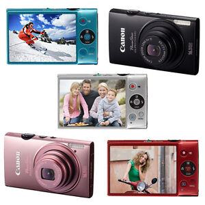 New-Canon-PowerShot-ELPH-110-HS-16-1-MP-Digital-Camera-Silver-BLK-Blue-Pink-Red