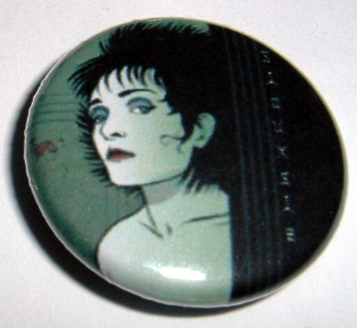 Siouxsie And The Banshees  25mm Pin Badge SIOUX5