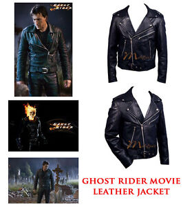 Ghost-Rider-Movie-Leather-Jacket-by-Nicolas-Cage-Free-Shipping