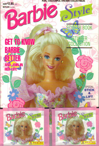 BARBIE STYLE 24 PACKETS 1995 PANINI STICKERS