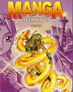 Soft-Cover-French-Book-Manga-Techniques-Peter-Gray-2005-Learn-to-draw-Mangas