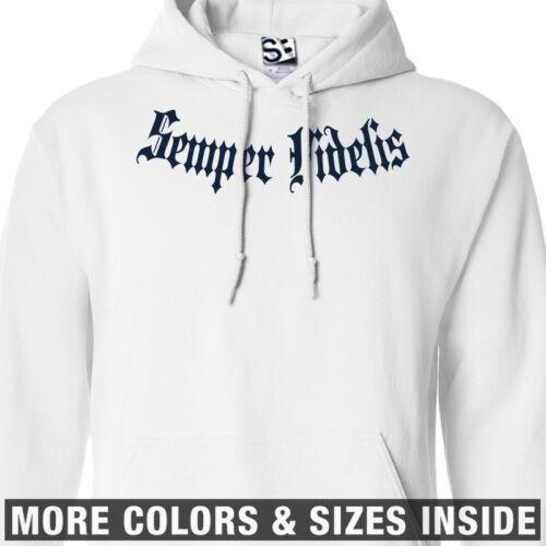 Semper Fidelis Addict HOODIE Addiction Hooded Sweatshirt All Sizes /& Colors