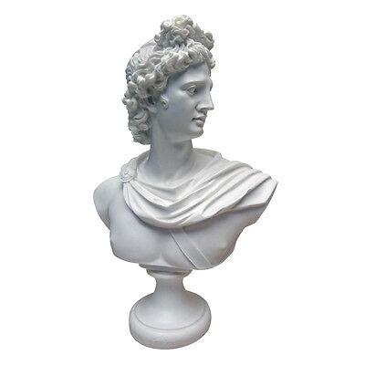 Pythian Apollo Belvedere Greek God of Archery Light & Youth Sculpture Bust