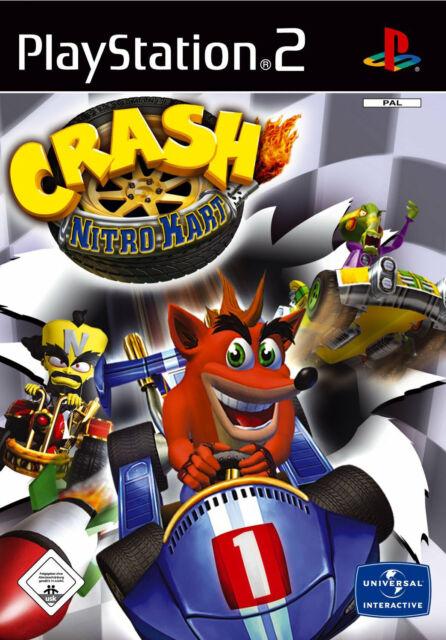 Crash: Nitro Kart mit Anleitung (PS2) - DVD wie Neu
