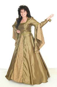 FANCY-Renaissance-Medieval-Gothic-Wedding-Victorian-DRESS-Faulty-Size-L-12-14