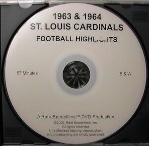 1963-amp-1964-St-Louis-Football-Cardinals-Highlights-DVD