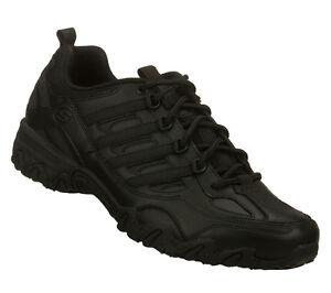 Skechers Black Uniform Shoes