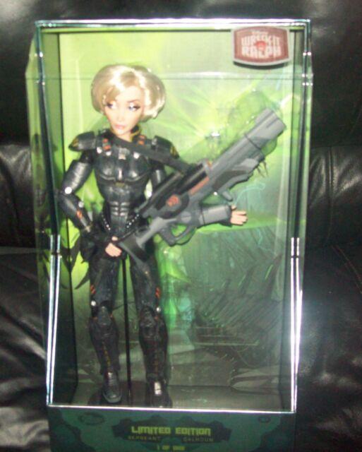 "Disney Limited Edition 17"" Sergeant Calhoun Wreck-It Ralph Doll 1 of 1000 NIB"