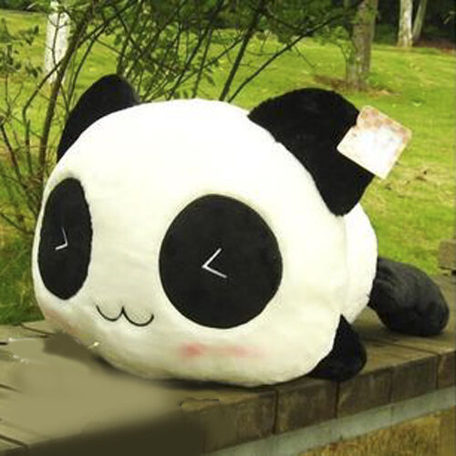 New Fashion Cushion Cover Pillow Case Waist Pillow Cute Panda Plush Toy