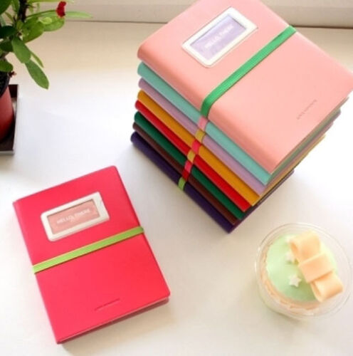 Diary Journal Planner Hello, There (ballpen+mini note+bookband+stickers)