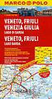 Italy - Veneto, Friuli, Lake Garda Marco Polo Map by Marco Polo (Sheet map, folded, 2013)
