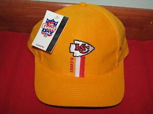 8ad63348e NFL Kansas City Chiefs Snapback Cap Hat New NWT Adjustable Logo 7 ...