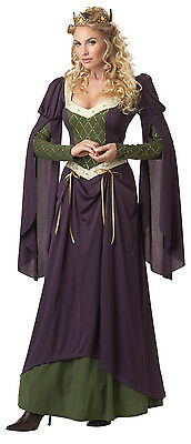Adult Sexy Lady In Waiting Medieval Renaissance Costume