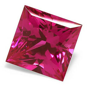 AAA-Rated-Square-Faceted-Bright-Pink-Lab-Created-Pink-Sapphire-2x2mm-12x12mm