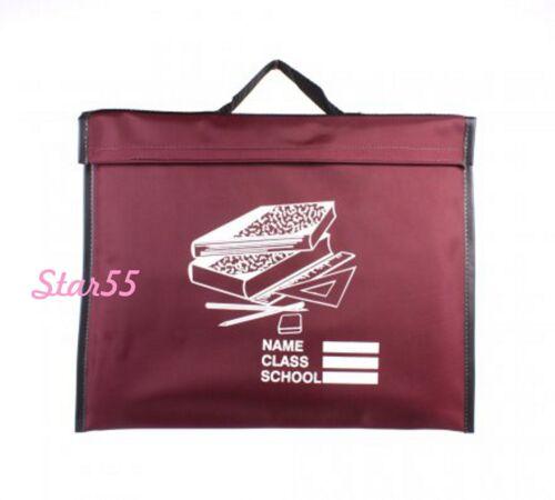 School Book Bag Girls Boys Lightweight  Easy Clean School Kids Book Bag 37x30cm