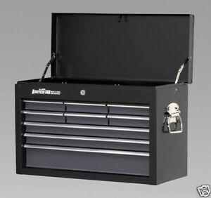 SEALEY-Tool-Chest-Box-Black-9-Drawer-AP2509B-BRAND-NEW