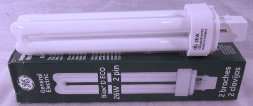 GE Biax D ECO 26W 2 pin Florescent Lamp 97608 F26DBX//835