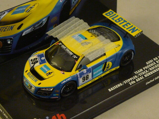 MINICHAMPS 437101998 - Audi R8 LMS 24 Heures Nurburgring 2010 N°98  1 43