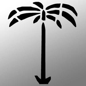 sticker afrikakorps dak afrika korps palme wh k bel r75. Black Bedroom Furniture Sets. Home Design Ideas