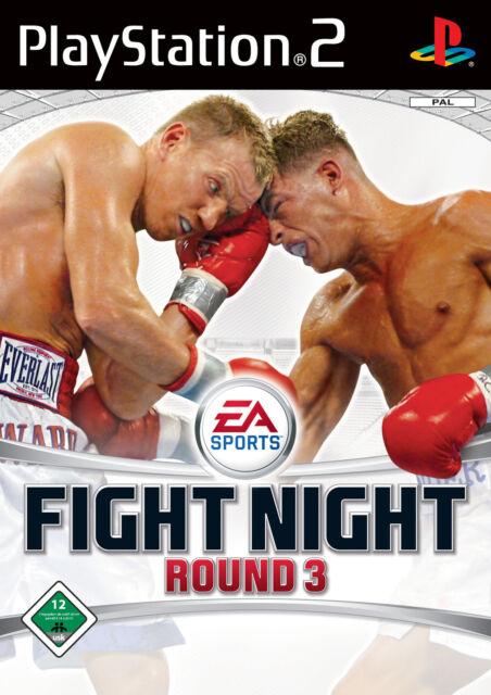 Anleitung Fight Night Round 3 PS2  (Kein Spiel, nur die Anleitung)