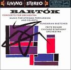 Bela Bartok - Bartók: Concerto for Orchestra; Music for Strings, Percussion and Celesta; Hungarian Sketches (1993)