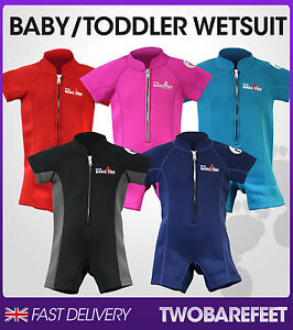 New-Two-Bare-Feet-Classic-Baby-Wetsuit-Swim-Suit