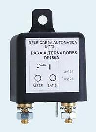 Relé Separador Baterías Automático E-772  Carga 12v Rele Relais Trennrelais E772