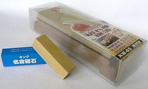 Japanese-waterstone-whetstone-King-KW-65-1000-6000-with-King-Nagura-stone