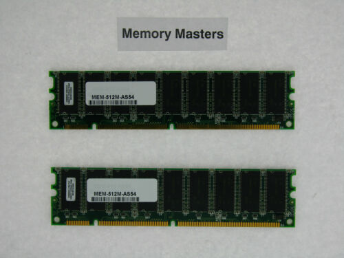 SDRAM Memory Kit for Cisco AS5400 2x256MB MEM-512M-AS54 512MB Approved