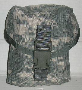 NEW-US-Army-Military-MOLLE-II-ACU-100-Round-Utility-Pouch-Saw-Gunner-Pouch