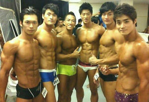 Men contests Asian