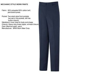 6-pair-New-WORK-UNIFORM-PANTS-NAVY-BLUE-Mechanic-Auto-Plumber-All-Sizes-PT10-20