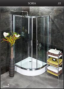duschkabine dusche mit duschwanne luxshower soria