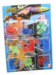 Anime-Digimon-Adventure-Clear-Color-Mini-Figure-Set-B-YUTAKA-Japan