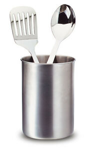 Image Is Loading TOOLBAR Kitchen Tool Caddy Crock Utensil Holder Stainless