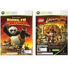 LEGO Indiana Jones and Kung Fu Panda Dual Pack (Microsoft Xbox 360, 2008)