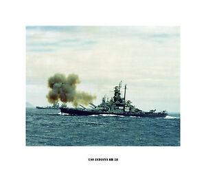USS-Indiana-BB-58-US-Naval-Battleship-Photo-Print-USN-Navy