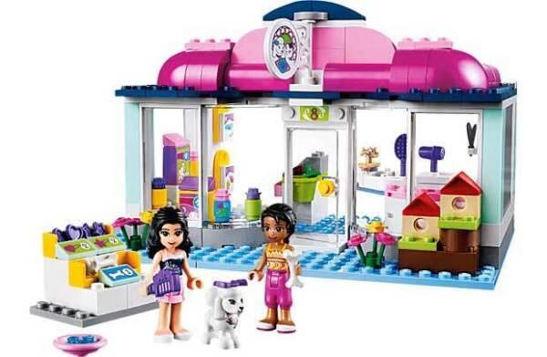 lego friends heartlake pet salon 41007 ebay. Black Bedroom Furniture Sets. Home Design Ideas