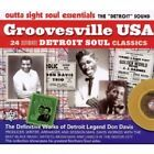 Various Artists - Groovesville USA (24 Ultimate Detroit Soul Classics, 2010)