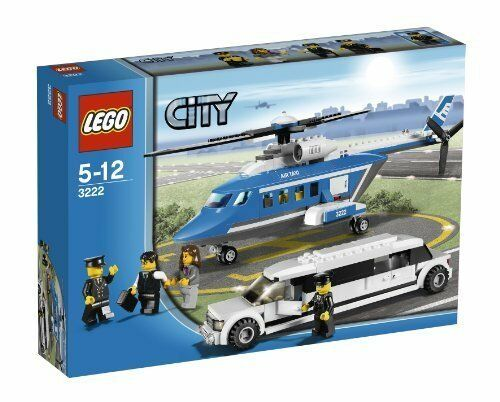 Lego Helicopter And Limousine 3222 Ebay