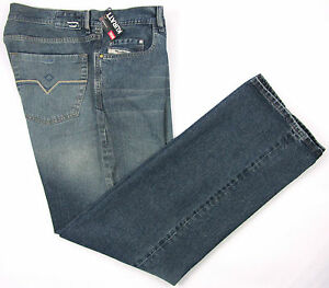 New-DIESEL-Italy-Kuratt-737-Low-Rise-Relaxed-Fit-Denim-Jeans-36-x-34-NWT-295