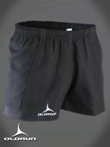 """Olorun Kinetic Black Rugby Shorts 30"""" - 46"""""""