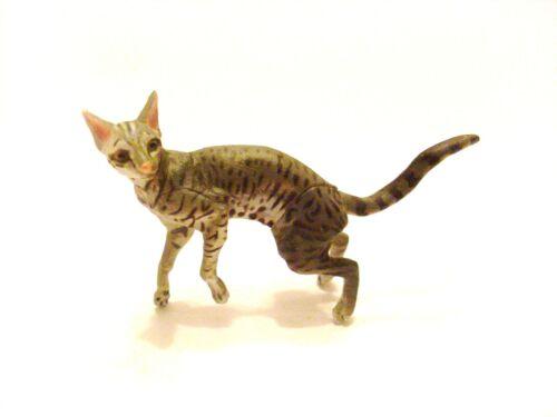 RARE Kaiyodo Takara Choco Q ChocoQ Pet Animal 5 Oriental Shorthair Cat Figure A