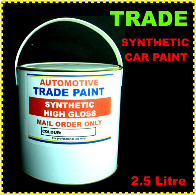 CAR & COMMERCIAL PAINT TRADE SYNTHETIC KAWASAKI BRIGHT LIME GREEN  2.5LT