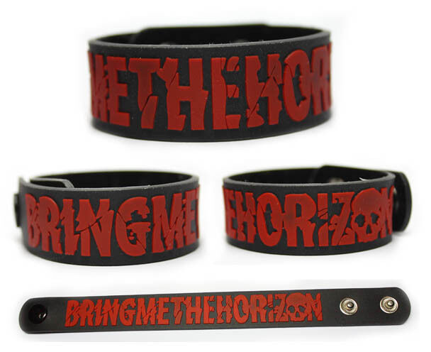 BRING ME THE HORIZON Rubber Bracelet Wristband There Is a Hell, Believe Me