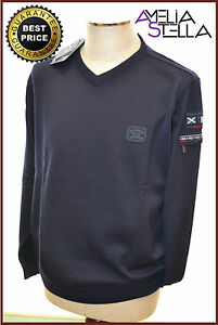 PAUL-amp-SHARK-YACHTING-PULLOVER-Size-XXL-Col-050-COOL-TOUCH-Code-I12P0053