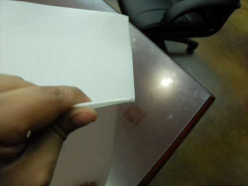 0.06 Translucent PE Plastic DIY Stencil Pattern Sheet 1 Flexible 25x23x1//16